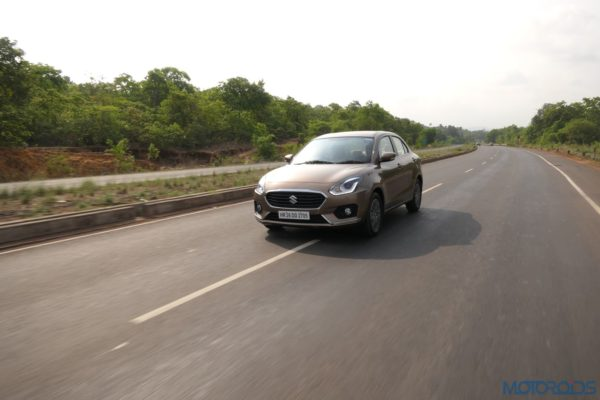 2017 Maruti Suzuki Dzire action shot review