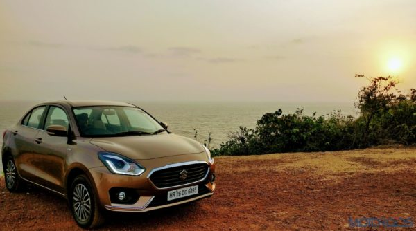 2017 Maruti Dzire Front View review