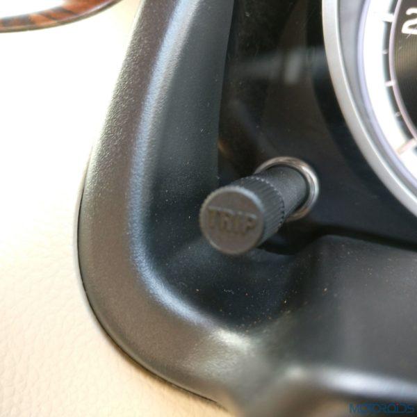 Maruti Suzuki Dzire tripmeter
