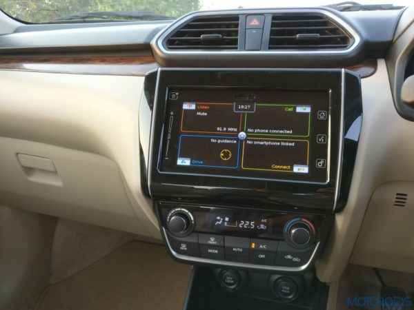2017 Maruti Dzire Centre Console Review