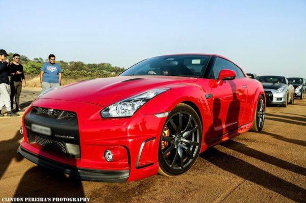 Nissan GT R Egoist edition - Front Side View - Headlight