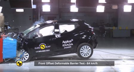Nissan Micra Crash Test - Five Star-Rating From Euro NCAP