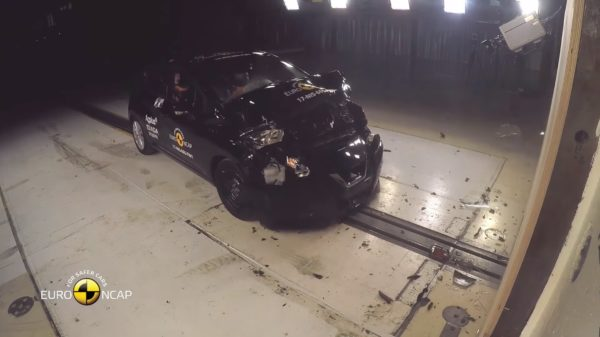 The New Nissan Micra Crash Test - Euro NCAP