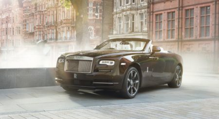 One-Off Rolls-Royce Dawn Mayfair Edition