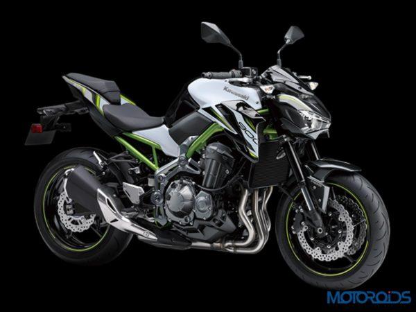 Kawasaki Z900 Pearl White