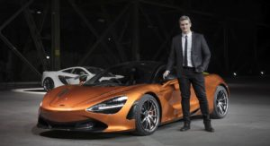 Rob Melville Promoted As Design Director Of McLaren Automotive