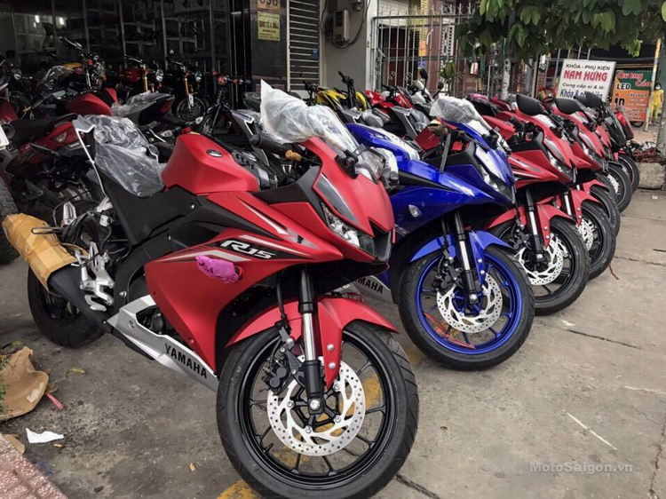 Yamaha yzf r15 v3 0 priced at 110 million vietnamese dong for Yamaha motorcycles thailand prices