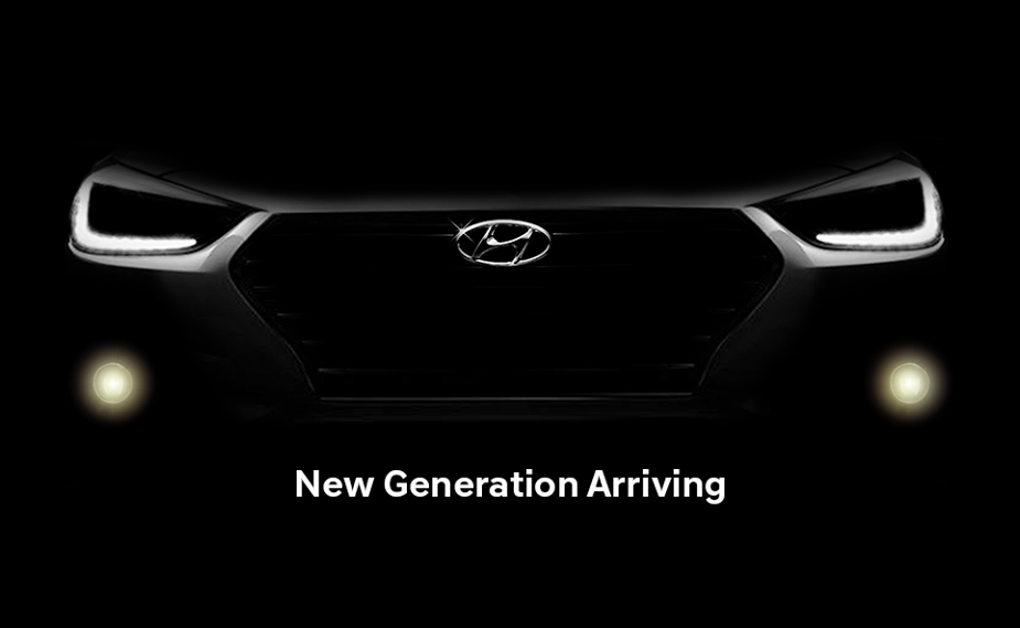 New Generation Hyundai Verna Teased Ahead Of Launch