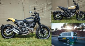 Ducati Scrambler Mach 2.0 And Full Throttle Showcased At 2017 Wheels And Waves