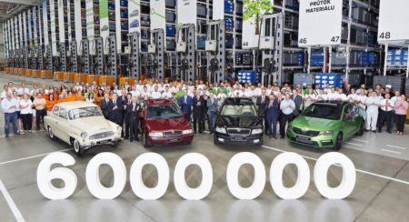 Six Millionth Skoda Octavia Rolls Off The Production Line