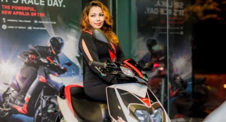 Aprilia SR 150 Launched in Sri Lanka