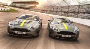 Aston Martin Vantage AMR duo