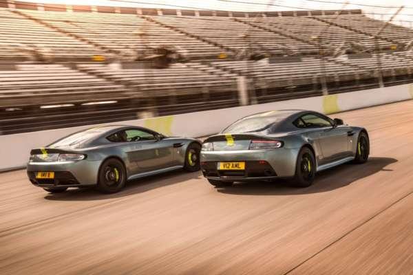 Aston Martin Vantage AMR rear profile