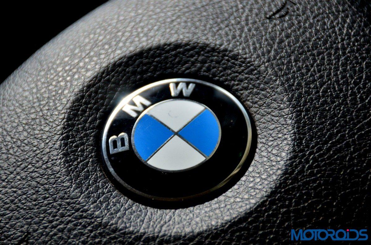 BMW 3 Series GT Logo interior