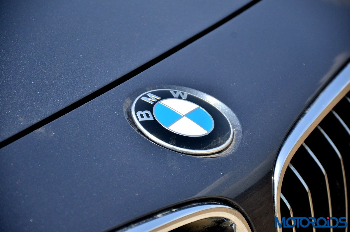 BMW 3 Series GT bonnet Logo