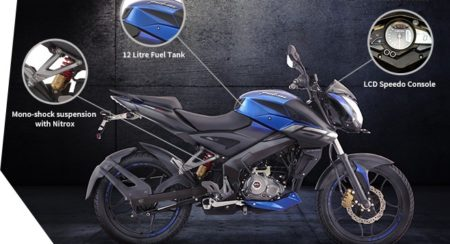 Bajaj Pulsar NS160 - Features - Comfort