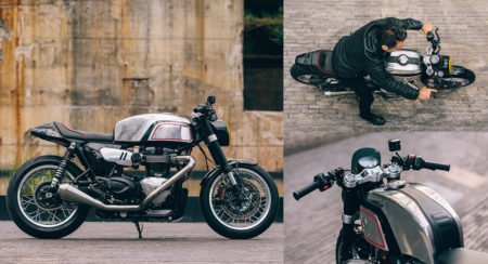 Blacktrack Motors - Triumph Thruxton R - BT-02 THRUXMAN - Feature Image