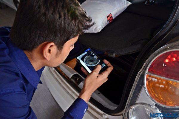 CARS24 car stepney inspection