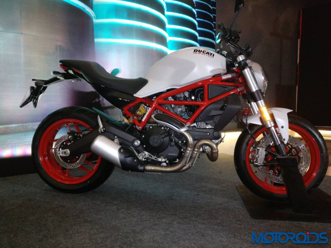 live ducati multistrada 950 and monster 797 launch. Black Bedroom Furniture Sets. Home Design Ideas