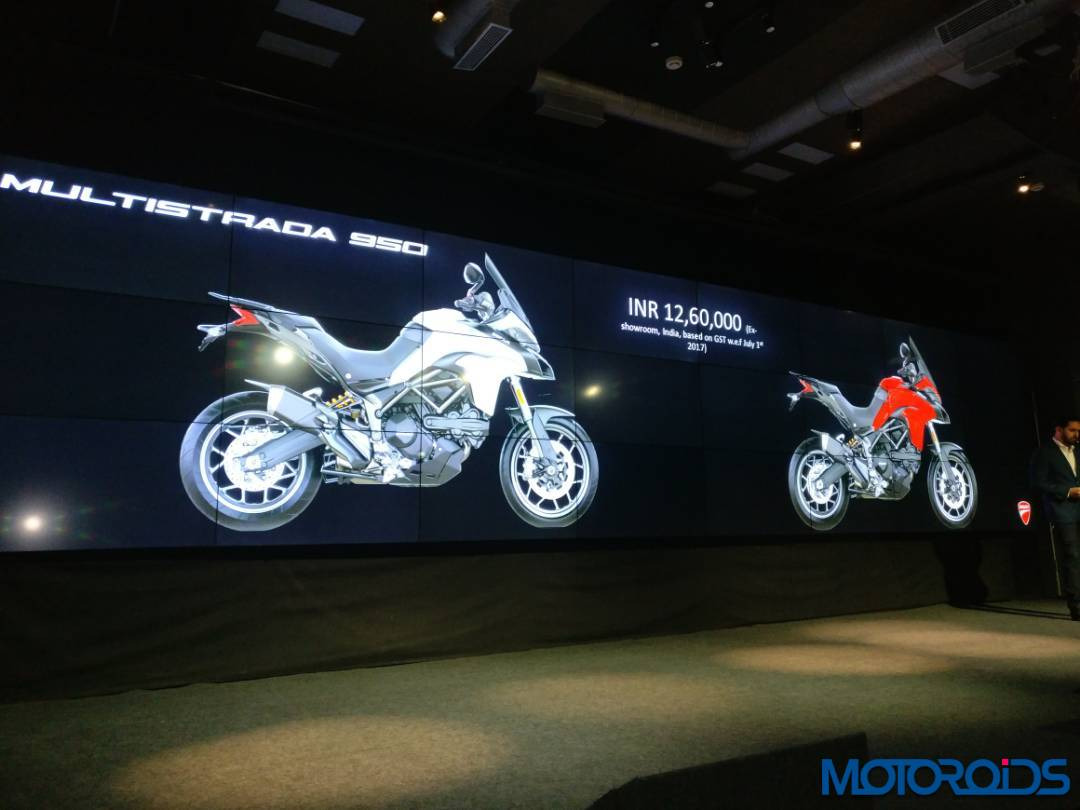 LIVE: Ducati... Ducati Monster India Price
