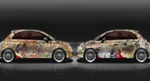 Fiat 500 KamaSutra collage