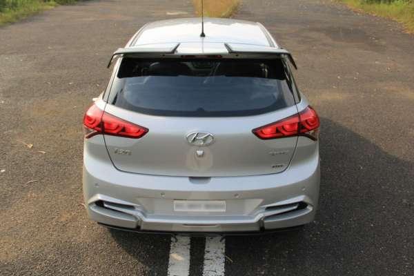 Hyundai Elite i20 GT body kit rear profile
