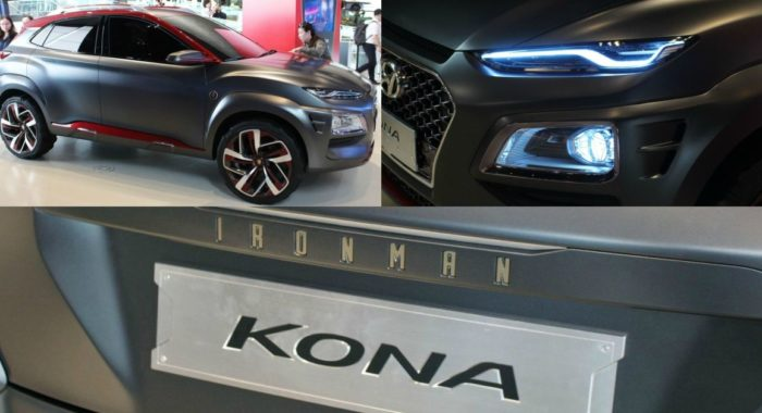 Check Out The Hyundai Kona Iron Man Special Edition