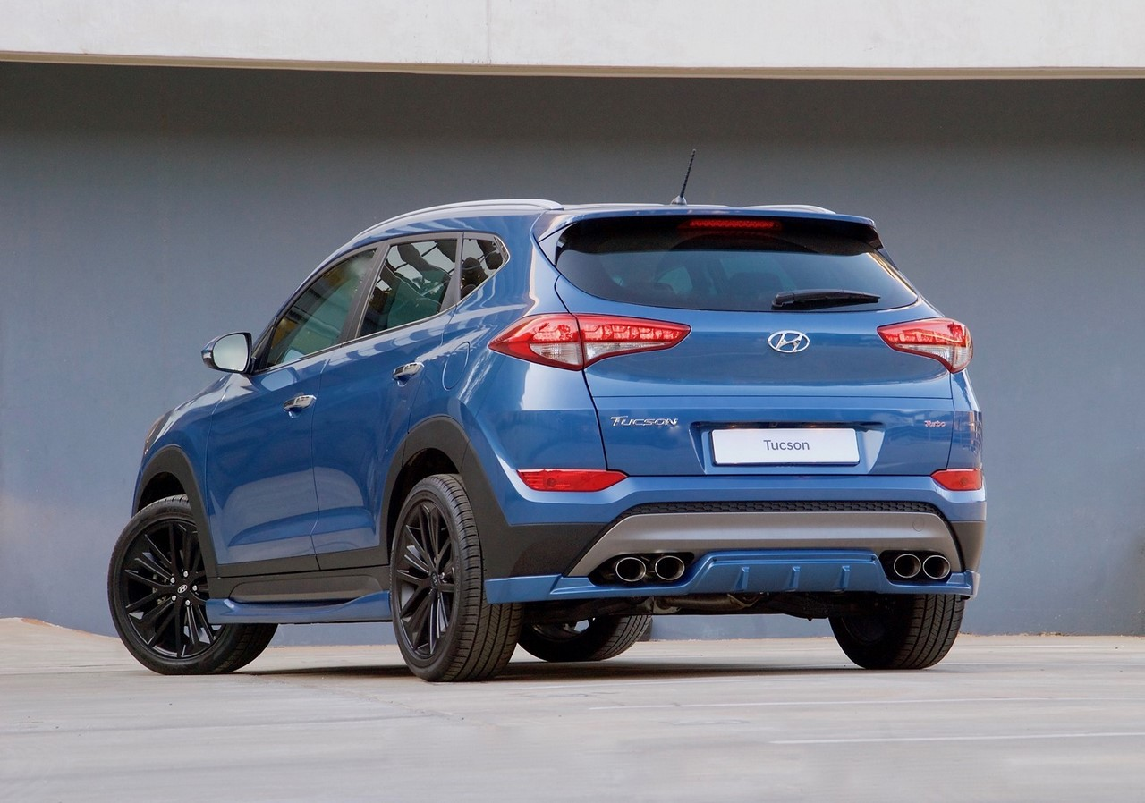hyundai tucson sport unveiled in south africa motoroids. Black Bedroom Furniture Sets. Home Design Ideas