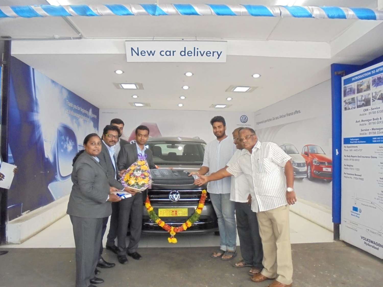 India S First Volkswagen Tiguan Delivered In Telangana