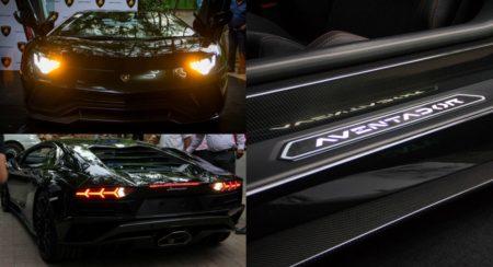 Indias first Lamborghini Aventador S Bengaluru
