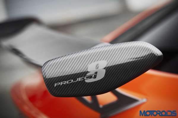 Jaguar XE SVO Project 8 spoiler