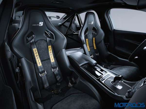 Jaguar XE SVO Project 8 two seat track pack