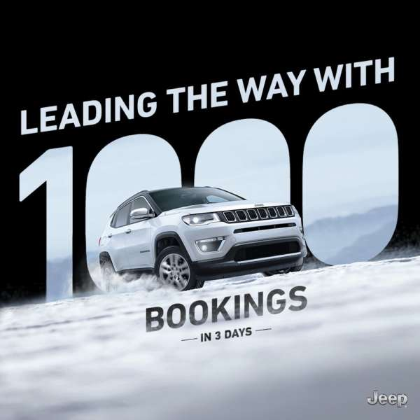 Jeep Compass Bookings