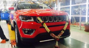 India-spec Jeep Compass Production