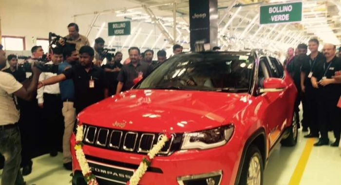 Made in India Jeep Compass Nationwide Pre-booking Opens Online