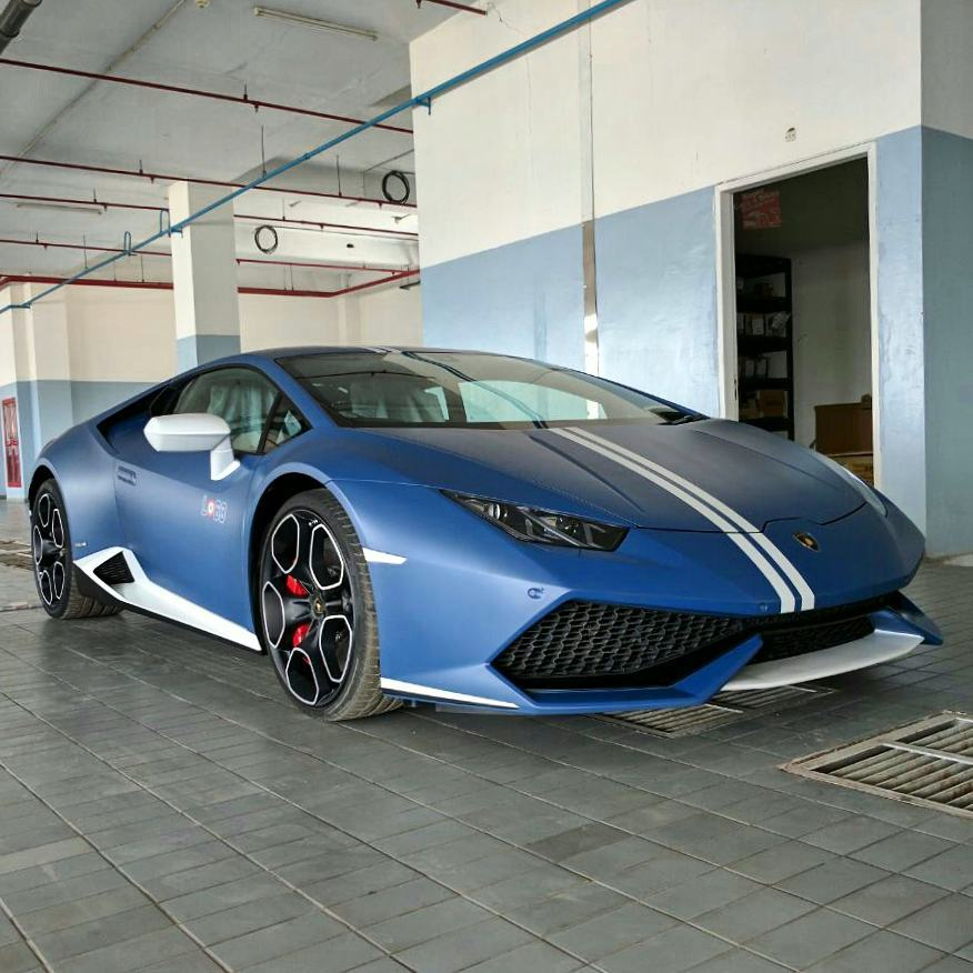 india s second lamborghini huracan avio goes to. Black Bedroom Furniture Sets. Home Design Ideas
