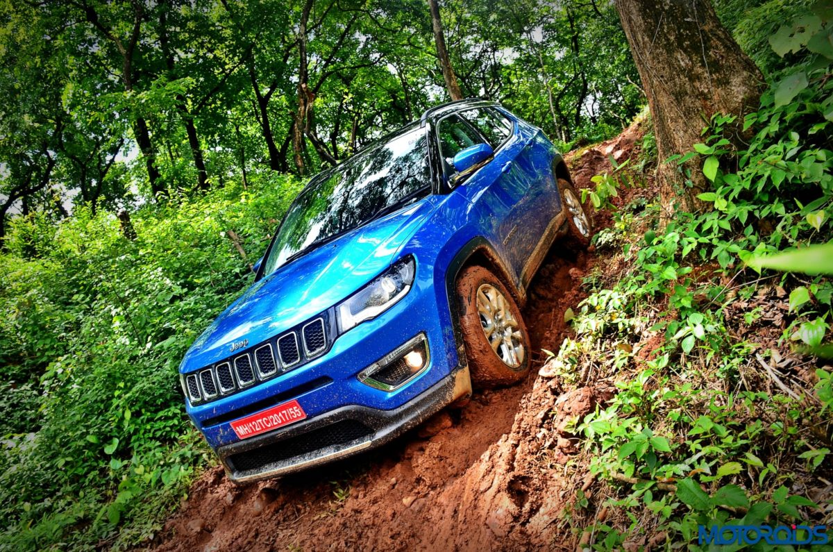 Made in India Jeep Compass Review Off roading shots (121)