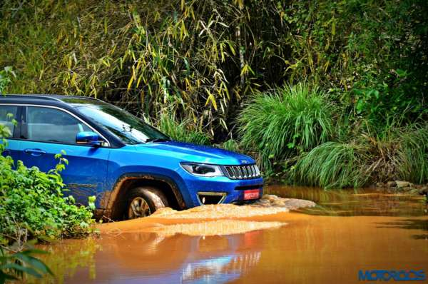 Made in India Jeep Compass - Review Off roading shots