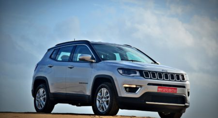 Made in India Jeep Compass Review Still Shots on the beach (14)
