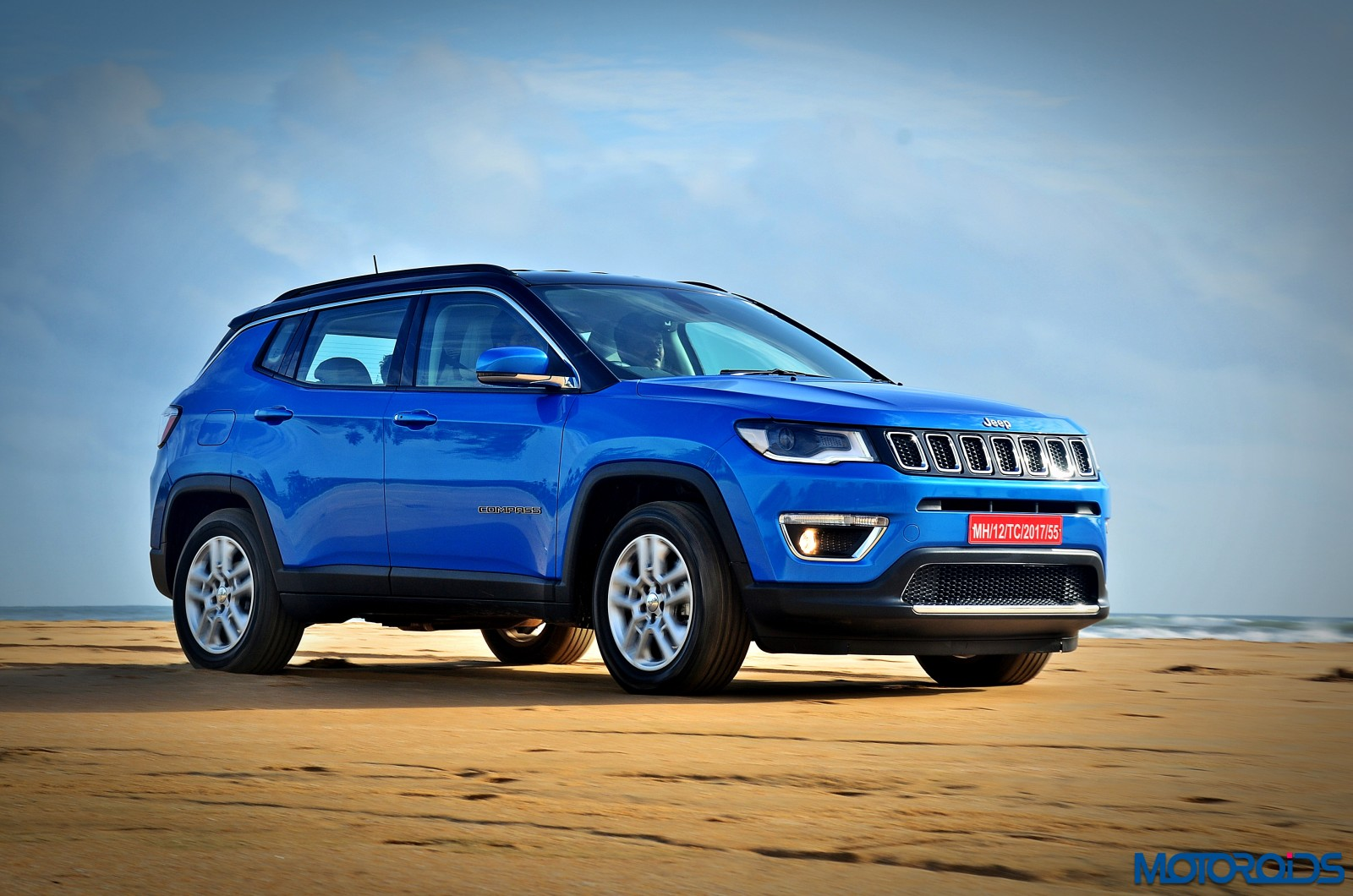 jeep compass launched in india official release and all you need to know motoroids. Black Bedroom Furniture Sets. Home Design Ideas
