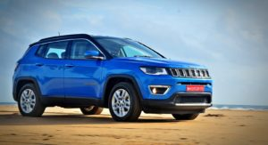 Made in India Jeep Compass Review Still Shots on the beach (17)