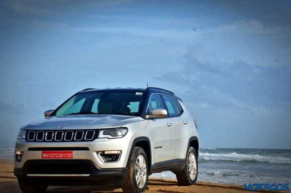 Made in India Jeep Compass Review Still Shots on the beach (19)