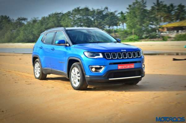 Made in India Jeep Compass Review Still Shots on the beach (9)
