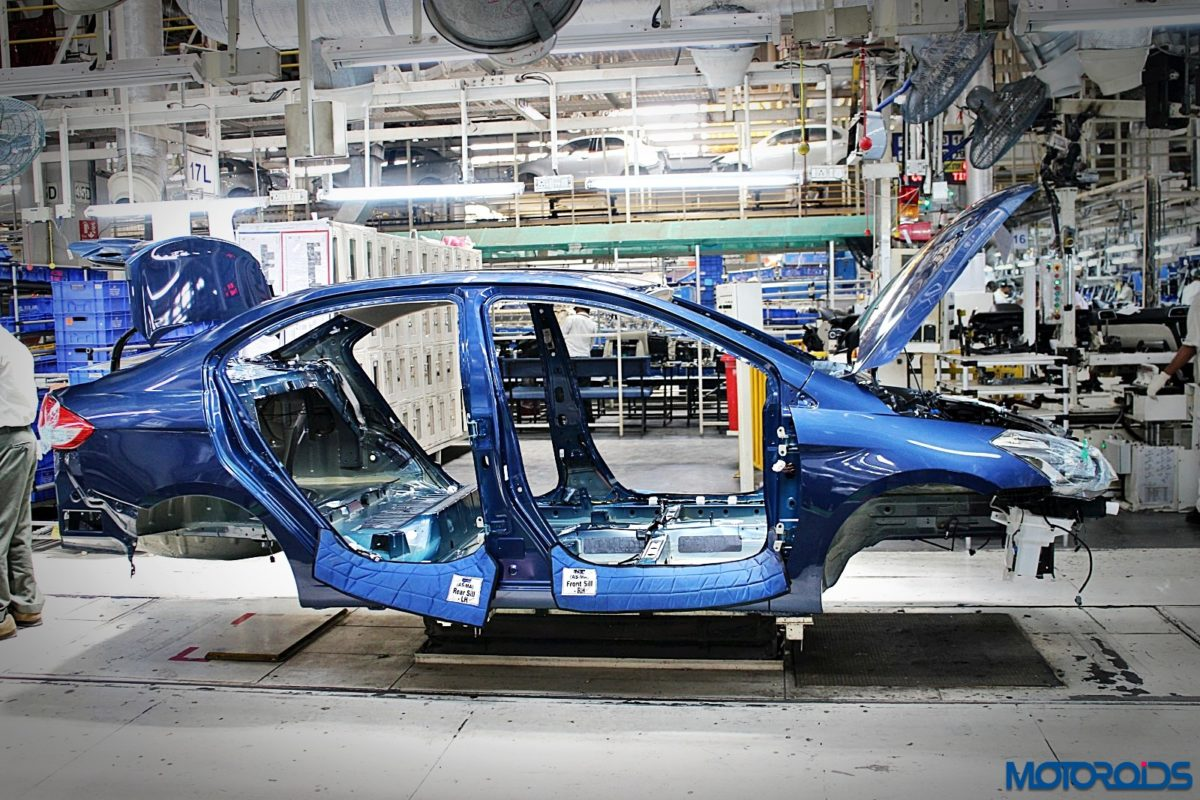 Maruti Suzuki Manesar plant Dzire production line (19)