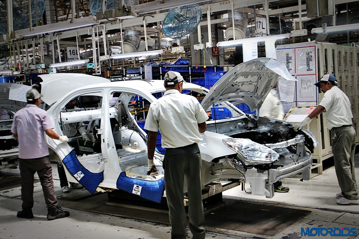 Maruti Suzuki Manesar plant Dzire production line (21)