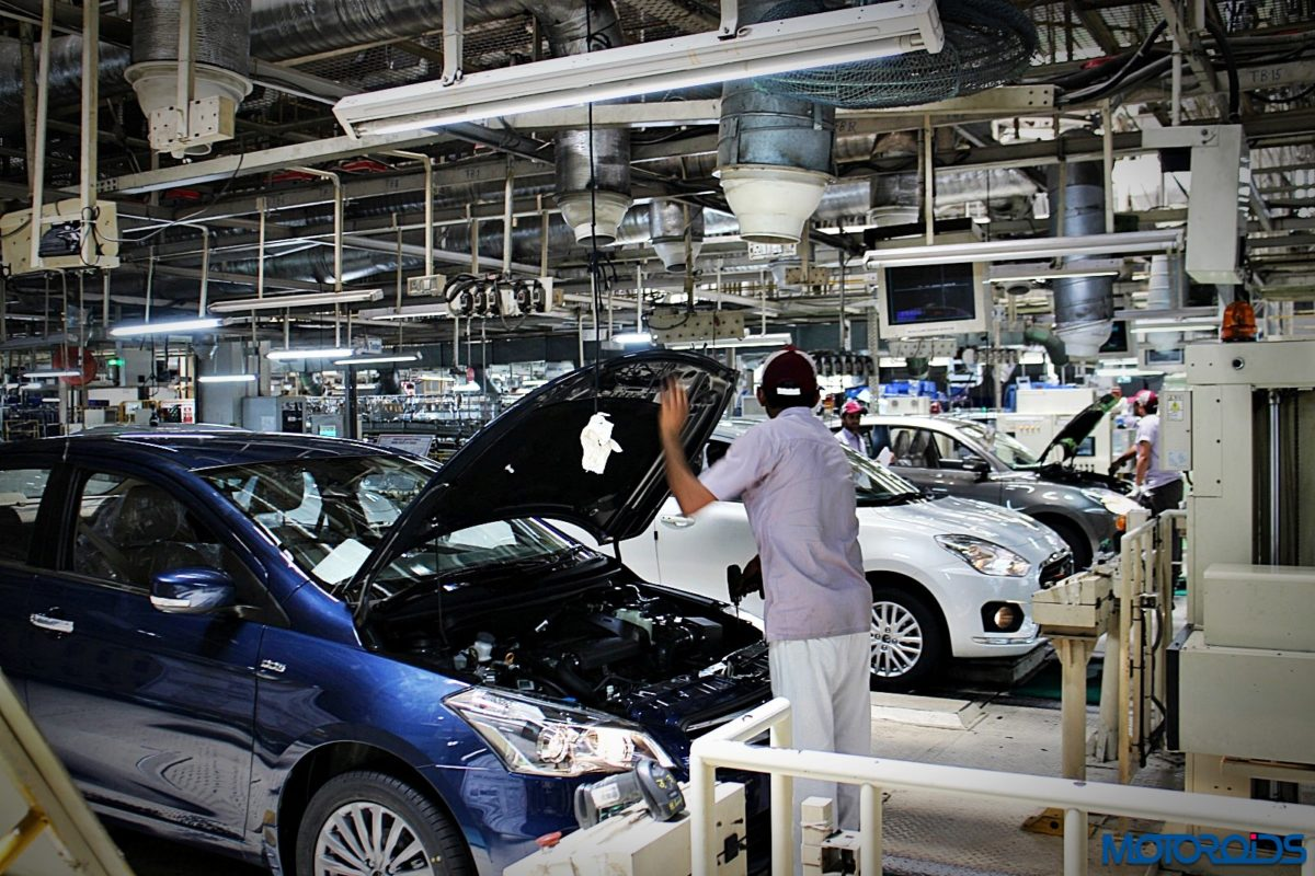 Maruti Suzuki Manesar plant Dzire production line (37)