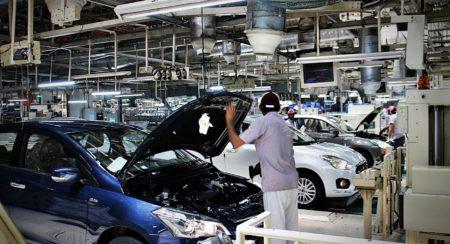 Maruti Suzuki Manesar plant Dzire production line (37)