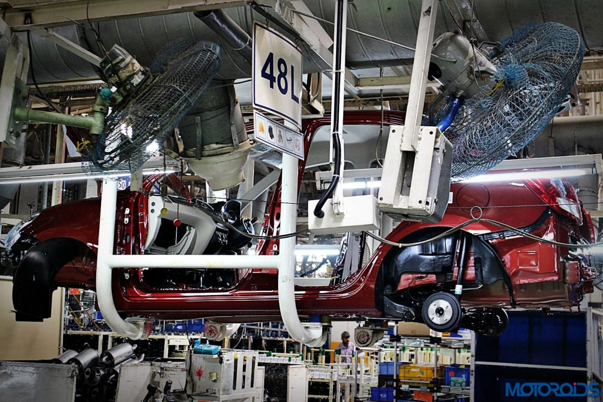 Maruti Suzuki Manesar plant Dzire production line (41)