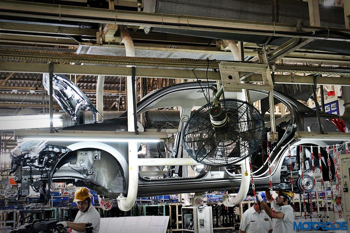 Maruti Suzuki Manesar plant Dzire production line (43)