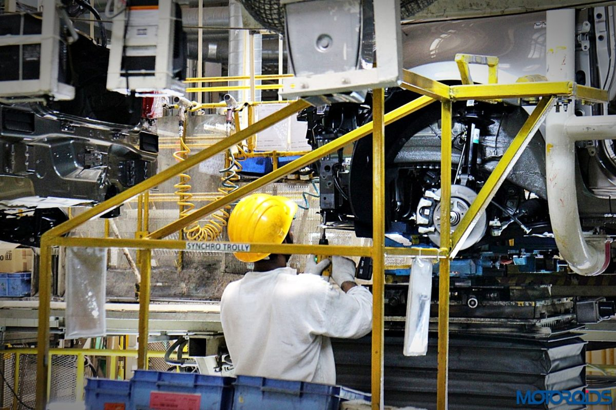 Maruti Suzuki Manesar plant Dzire production line (46)